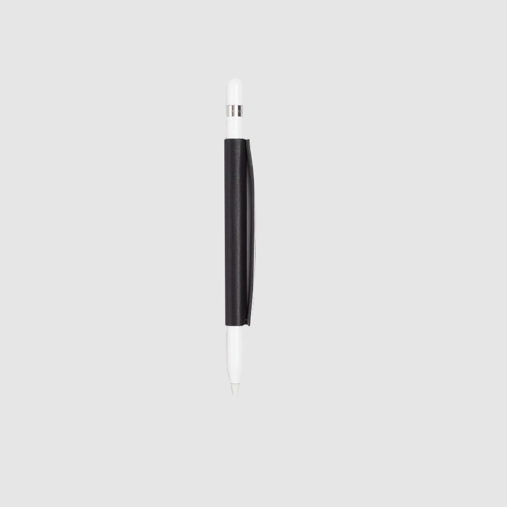 anson pencil sleeve french calfskin *hover _black