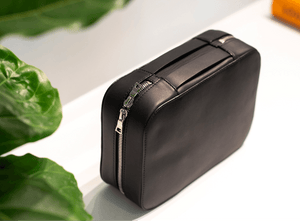 toiletry kit dop case anson calder french calfskin leather _all