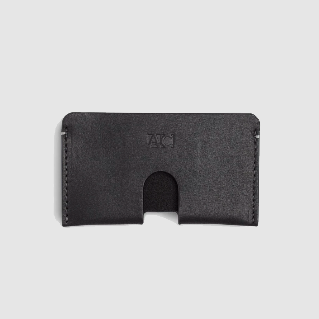 anson calder business card case french calfskin *hover _black