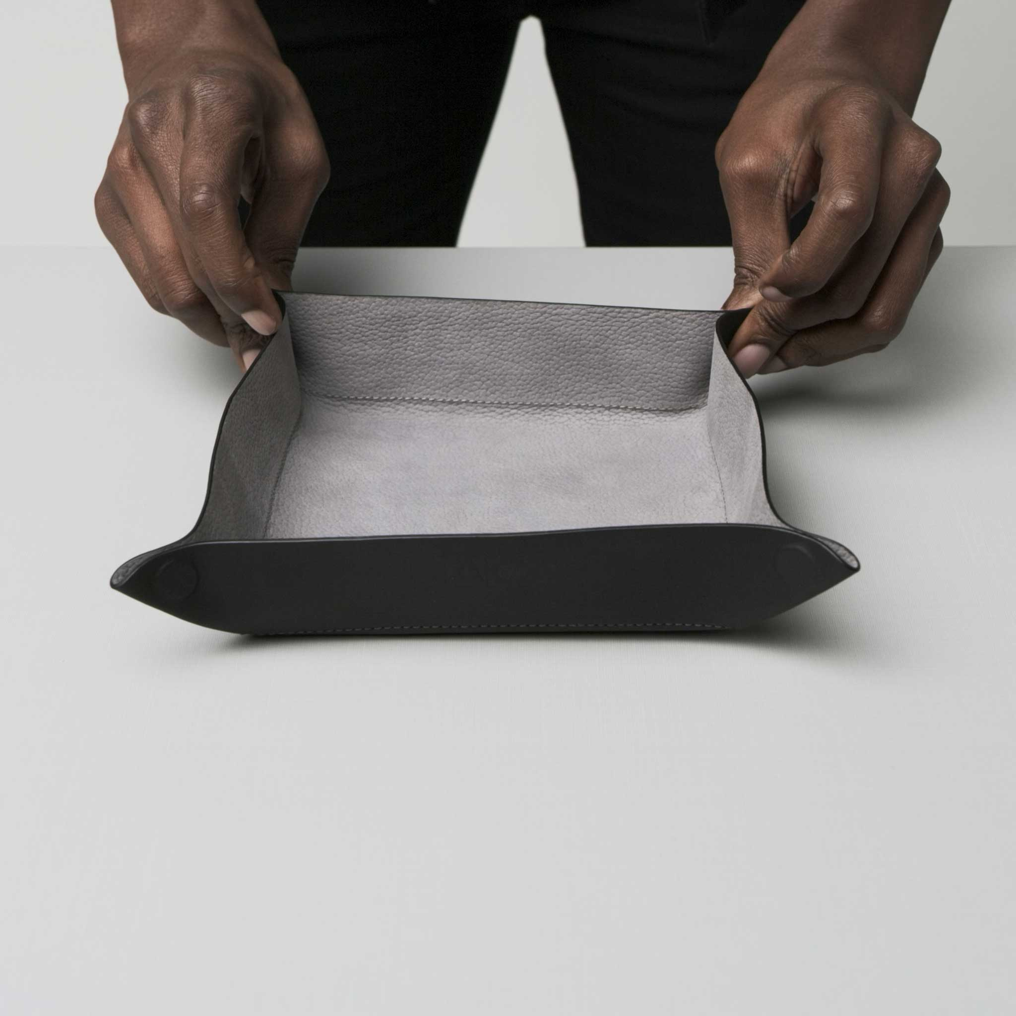 catch-all tray anson calder french calfskin leather *hover _all