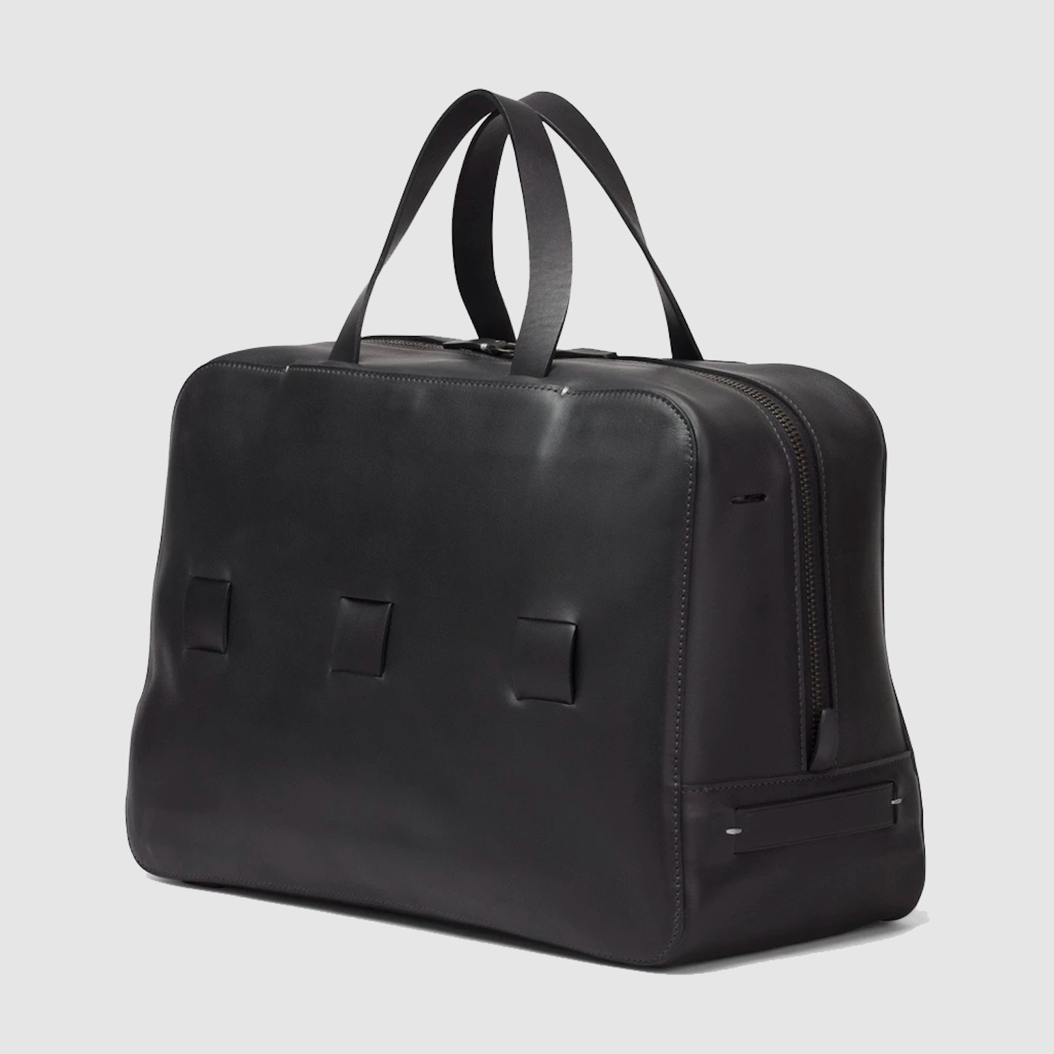 black day bag anson calder french calfskin _black