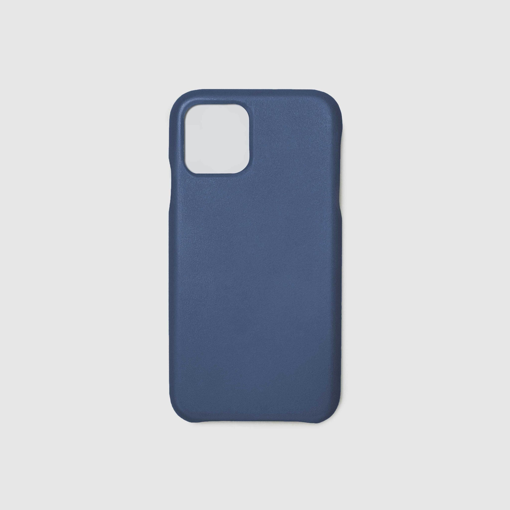 anson calder iphone case french calfskin 11 eleven pro max leather _cobalt