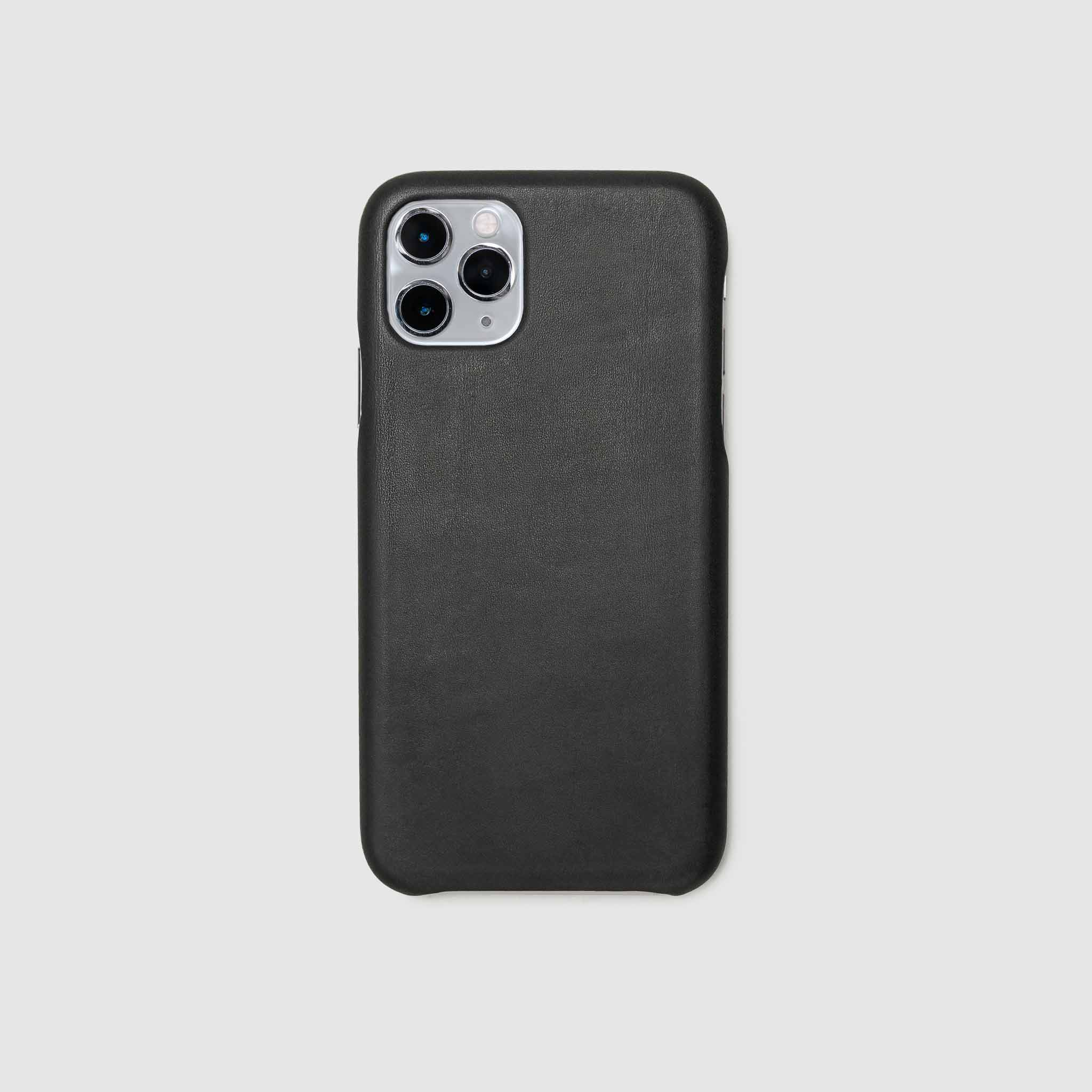 anson calder iphone case french calfskin 11 eleven pro max leather !iphone11pro-iphone11promax  *hover _black