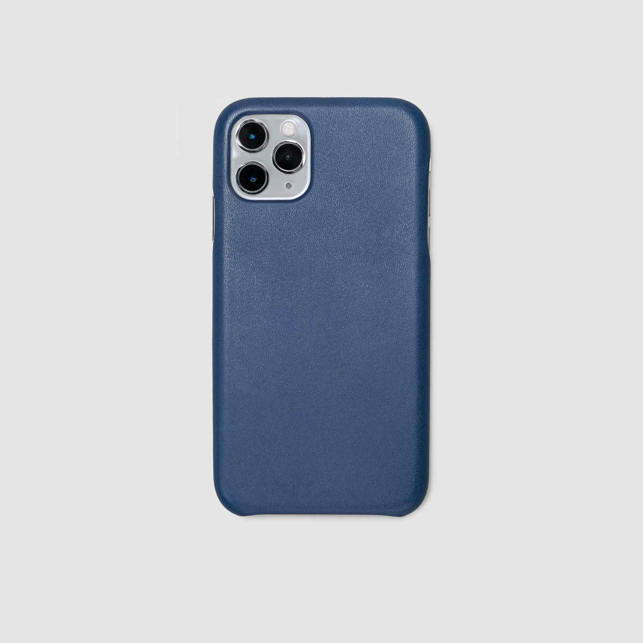 anson calder iphone case french calfskin 11 eleven pro max leather  !iphone11pro-iphone11promax *hover _cobalt