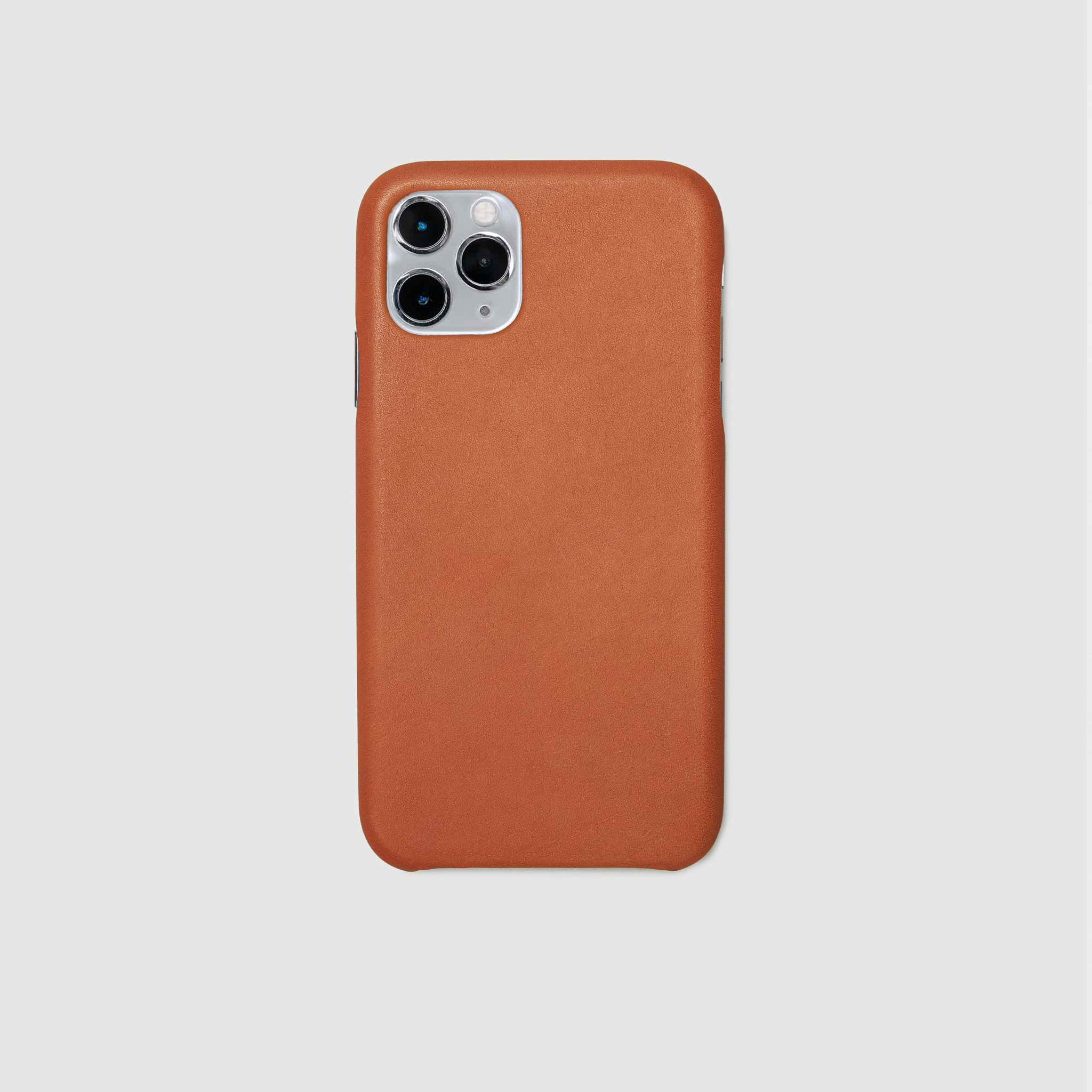 anson calder iphone case french calfskin 11 eleven pro max leather !iphone11pro-iphone11promax *hover _cognac