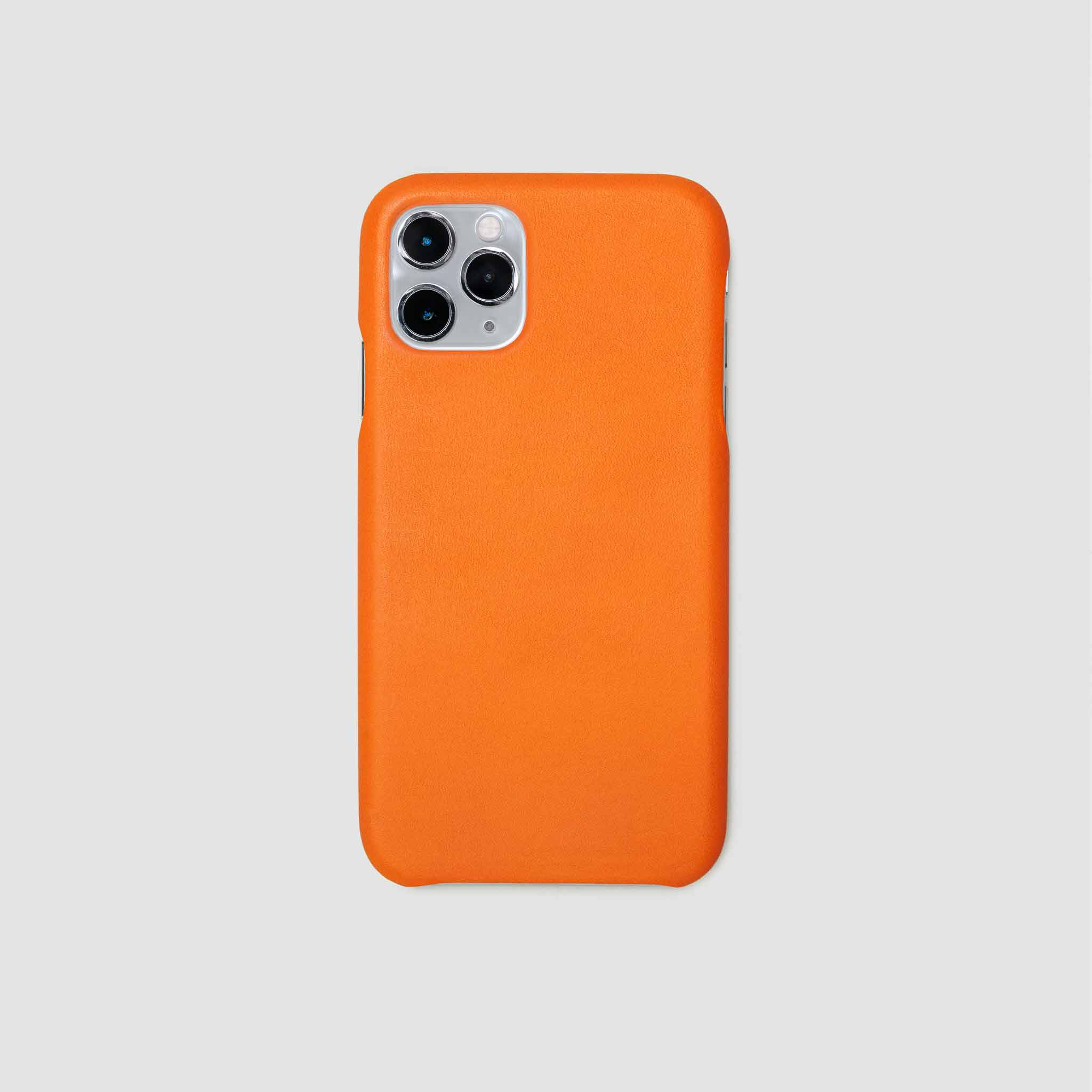 anson calder iphone case french calfskin 11 eleven pro max leather !iphone11pro-iphone11promax *hover _fshd-orange