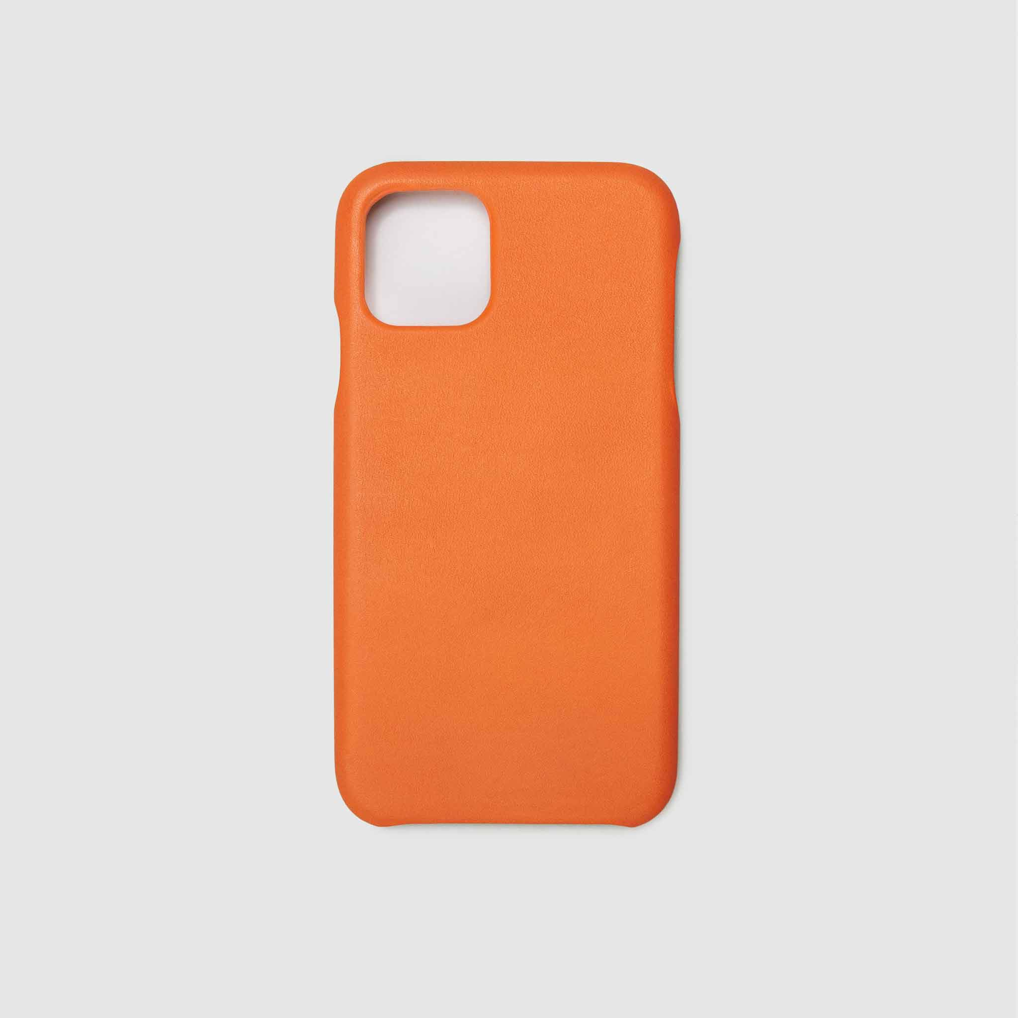 anson calder iphone case french calfskin 11 eleven pro max leather !iphone11pro-iphone11promax _fshd-orange