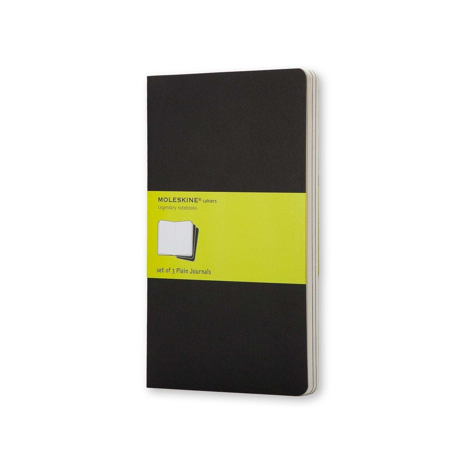MOLESKINE® CAHIER JOURNAL - SET OF 3 PARTNER PRODUCT MOLESKINE _black