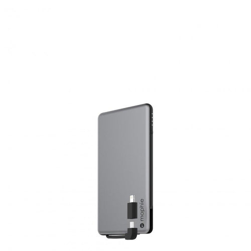 MOPHIE POWERSTATION PLUS MINI PARTNER PRODUCT MOPHIE Silver