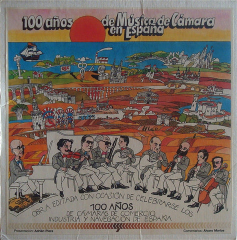 100 Years of Chamber Music in Spain - Trade Industry Issue (3LP box set) - rare