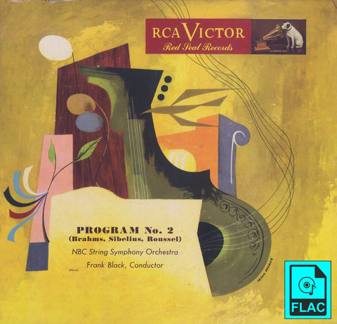 Black/NBC SO: Roussel Sinfonietta Op. 52 - RCA Victor DM-455