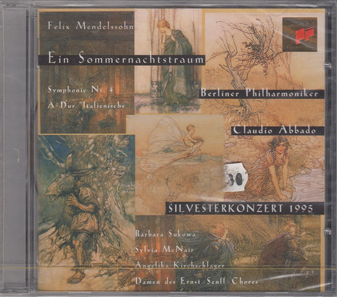 CD - Abbado: Mendelssohn A Midsummer Night's Dream - Sony SK 62600 (DDD, Sealed)