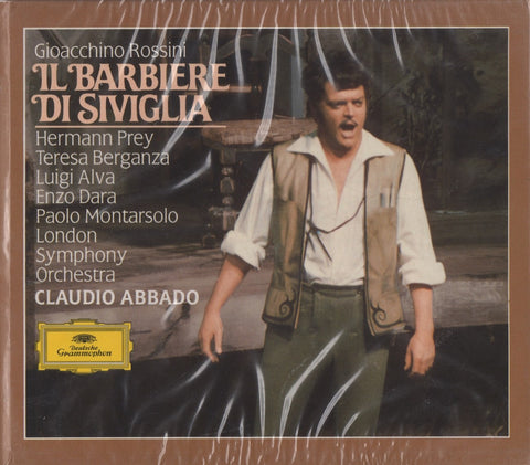 CD - Abbado: Rossini Barber Of Seville - DG 415 695-2 (2CD Set, Sealed)