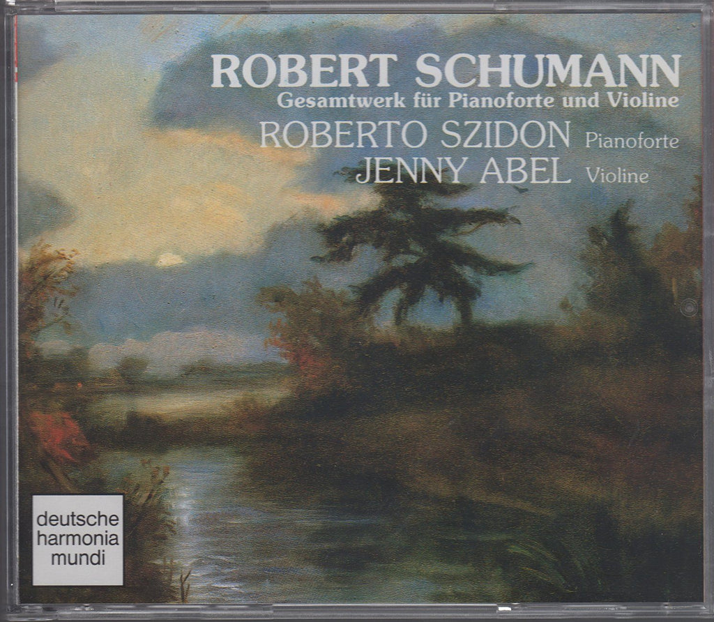 Abel/Szidon: Schumann works for violin & piano - DHM 1038-2 (2CD set)