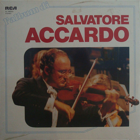 LP - Accardo: 1960s RCA Recordings - Italian RCA GL 70803(3) (3LP Box Set, Sealed)