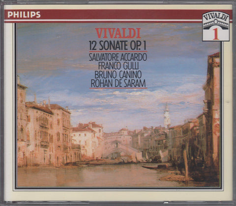 Accardo: Vivaldi 12 Violin Sonatas Op. 1 - Philips 426 926-2 (2CD set)