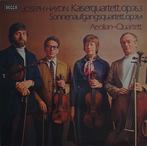 LP - Aeolian Quartet: Haydn String Quartets Op. 76 Nos. 3 & 4 - Decca 6.42315 AS