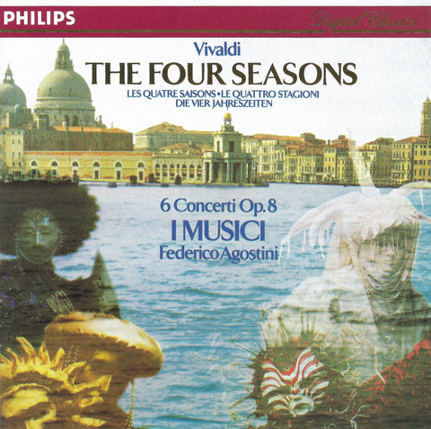 Agostini: Vivaldi 4 Seasons (rec. 1988) - Philips 426 847-2 (DDD)