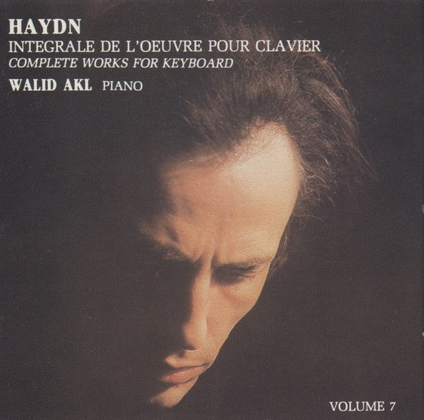 CD - Walid Akl: Haydn Variations In F Minor + 4 Piano Sonatas - Thesis THC 82011