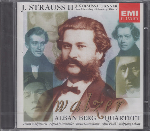 CD - Alban Berg Quartet: J. Strauss & Lanner Waltzes - EMI CDC 7 54881 2 (sealed)