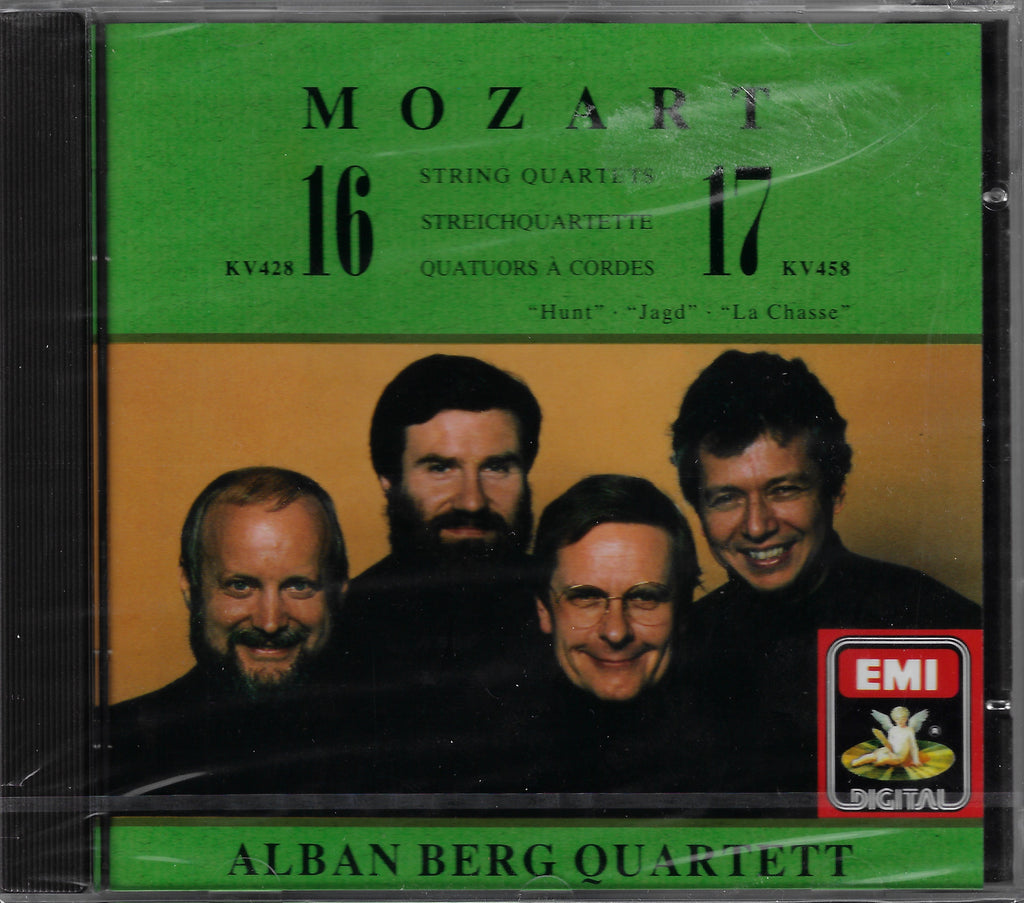 Alban Berg Quartet: Mozart K428 & K458 - EMI CDC 7 54052 s (sealed)