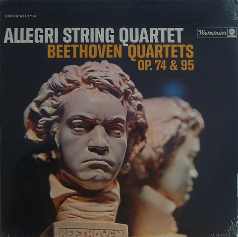 LP - Allegri String Quartet: Beethoven Opp. 74 & 95 - Westminster WST-17142 (sealed)