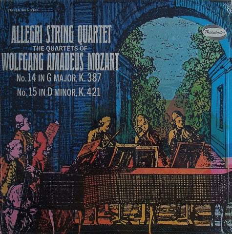 LP - Allegri Quartet: Mozart SQs K. 387 & K. 421 - Westminster WST-17133 (sealed)