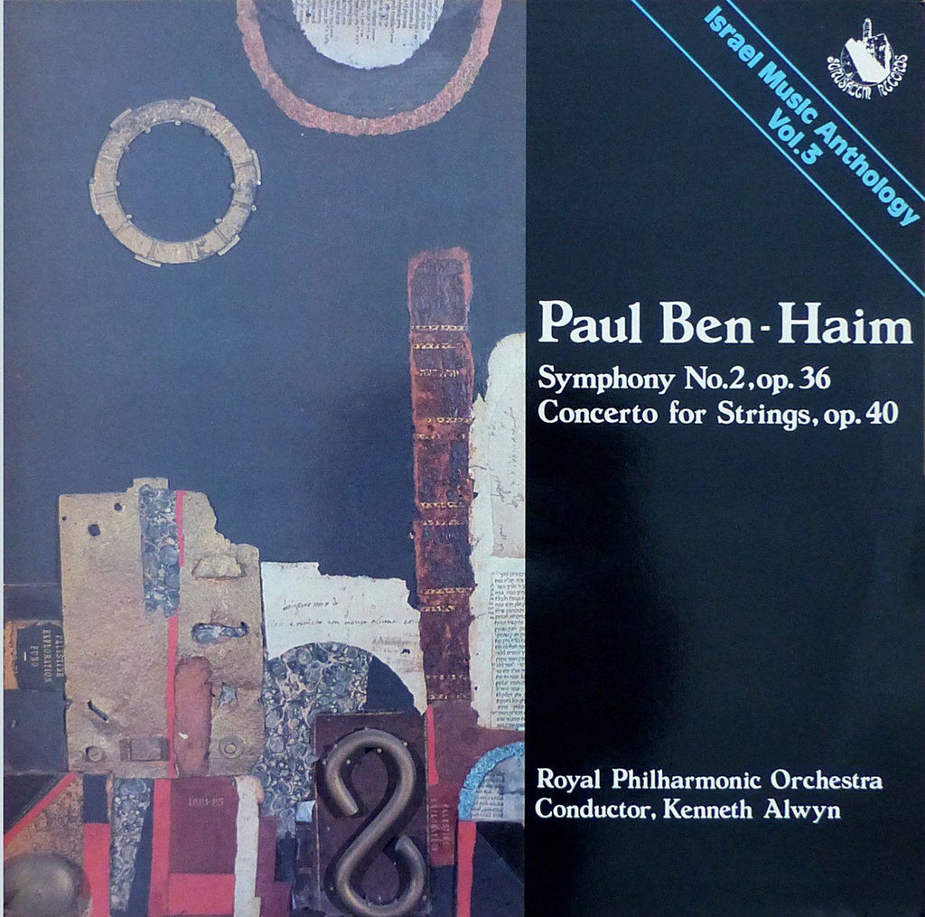 Alwyn: Ben-Haim Sym No. 2 + Concerto for Strings - Jerusalem Records ATD 8305