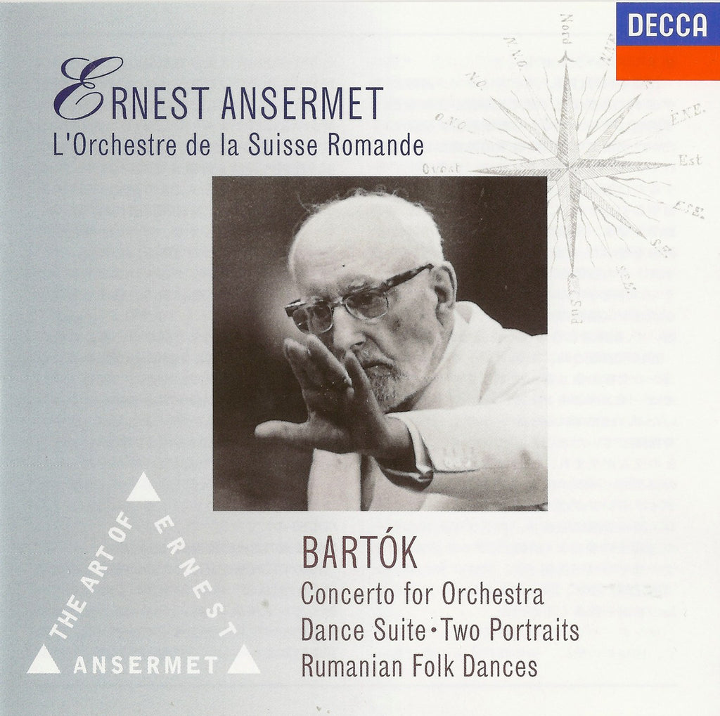 CD - Ansermet: Bartok Concerto For Orchestra, Etc. - Decca Japan UCCD-3018