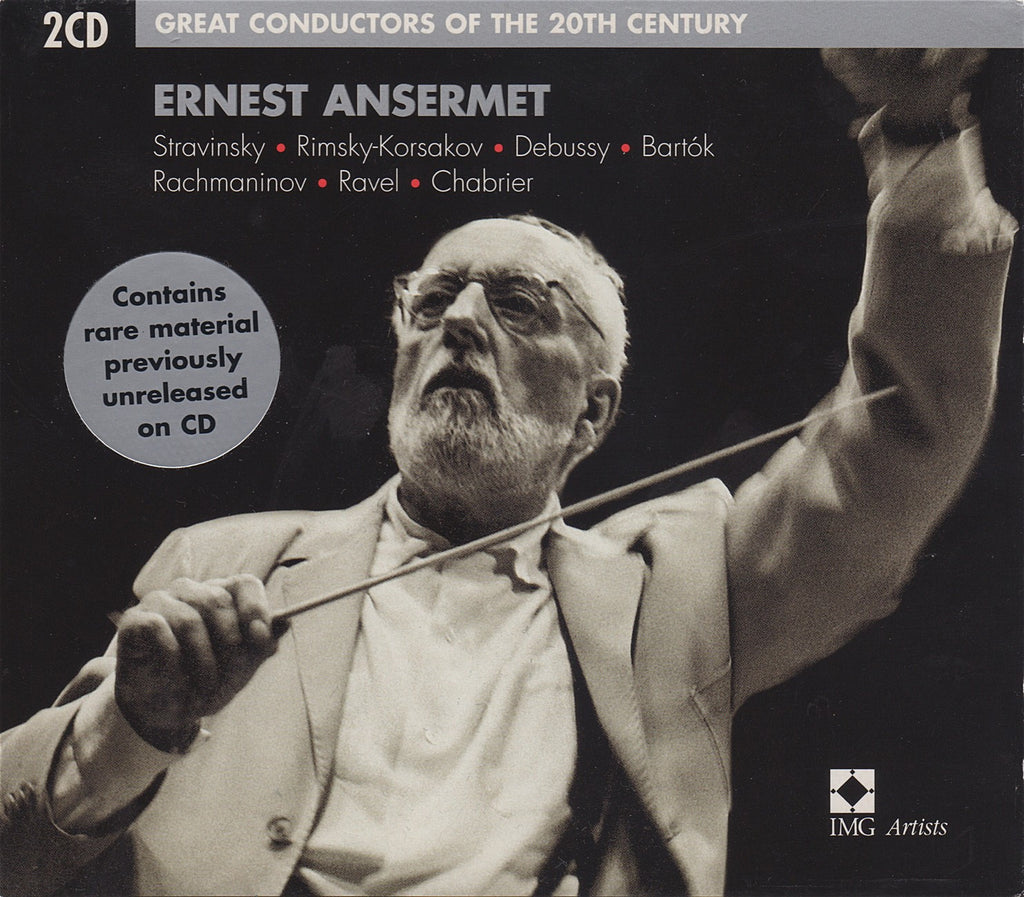 CD - Ansermet: Great Conductors Of The 20th Century - EMI 7243 5 75094 2 8 (2CD Set)