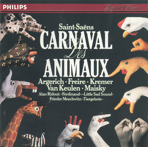 Argerich, et al: Carnival of the Animals, etc - Philips 416 841-2