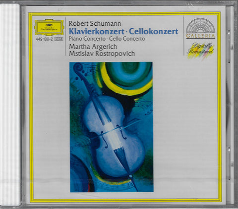 Argerich: Schumann Piano Concerto, etc. - DG 449 100-2 (sealed)