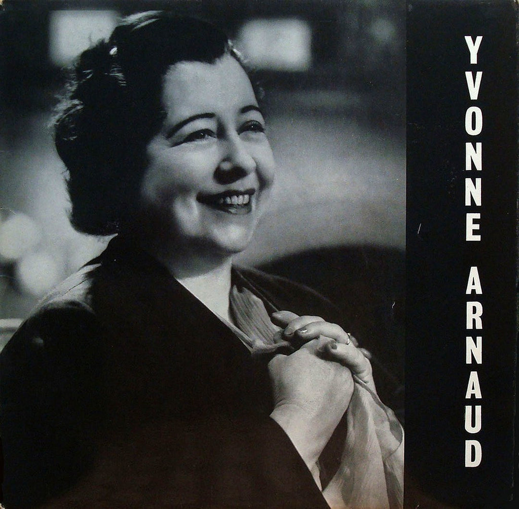 LP - Yvonne Arnaud: Tribute (as Composer, Pianist, Vocalist) - Semi-Private Issue