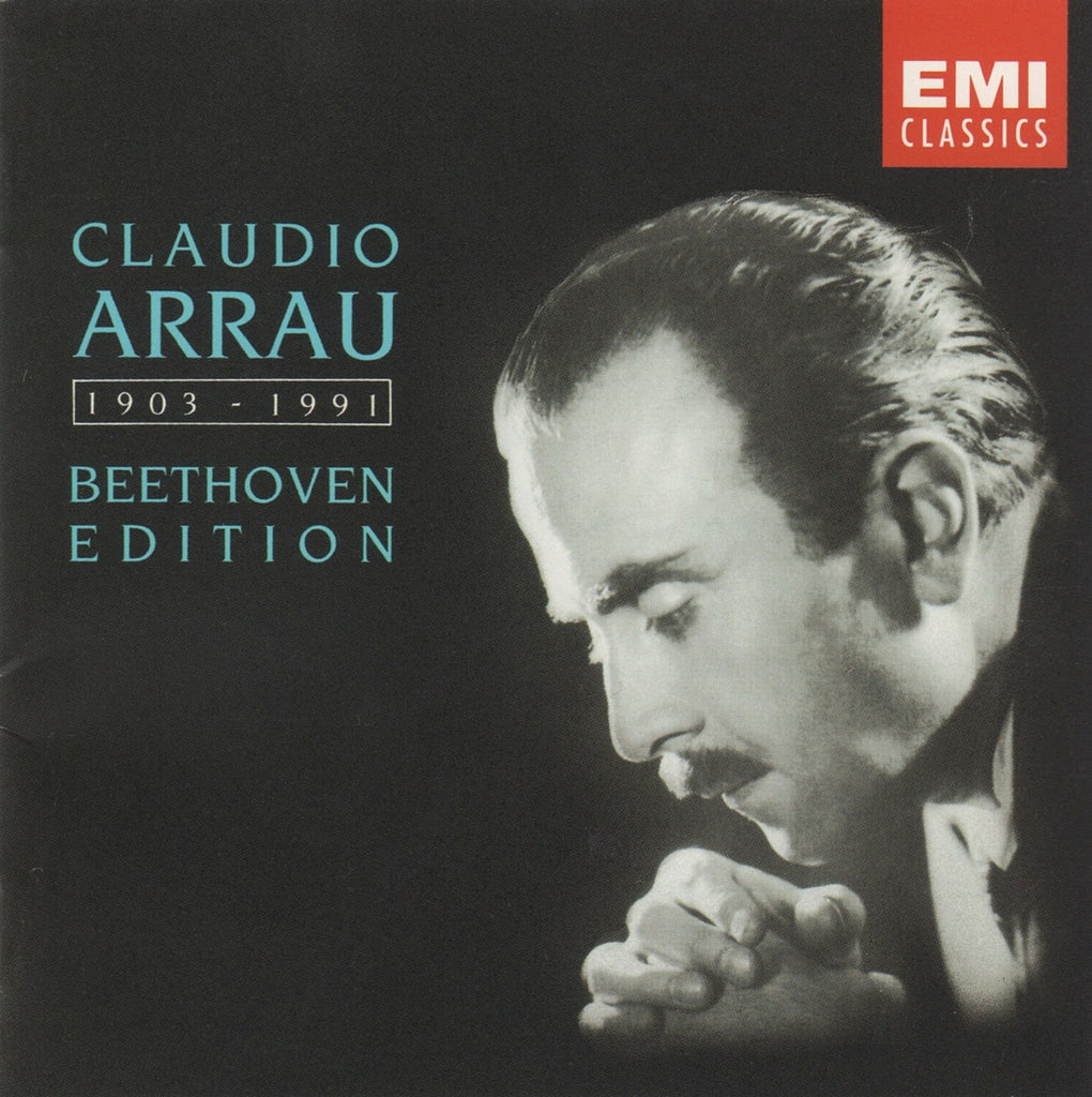 CD - Arrau: Beethoven Edition (5 Concerti + Sonatas) - EMI CZS 7 67379 2 (5CD Set) - Very Rare