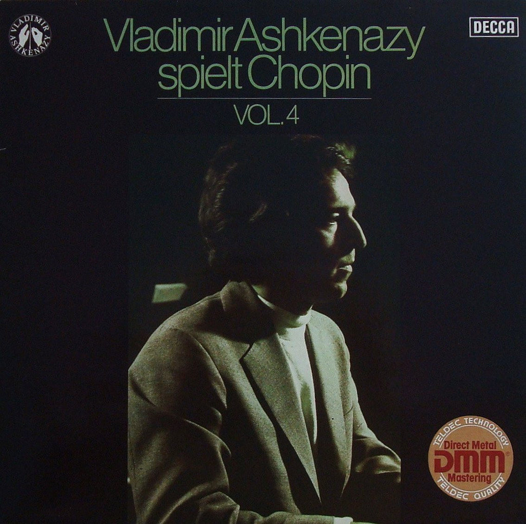 LP - Ashkenazy: Chopin Cycle Vol. 4 (Piano Sonata No. 1, Mazurkas, Etc.) - Decca 6.42067 AW