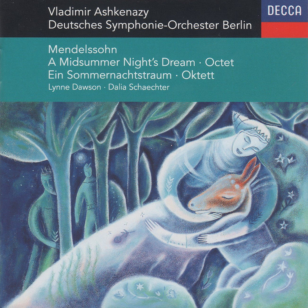 Ashkenazy: Midsummer Night's Dream + Octet - Decca 440 296-2
