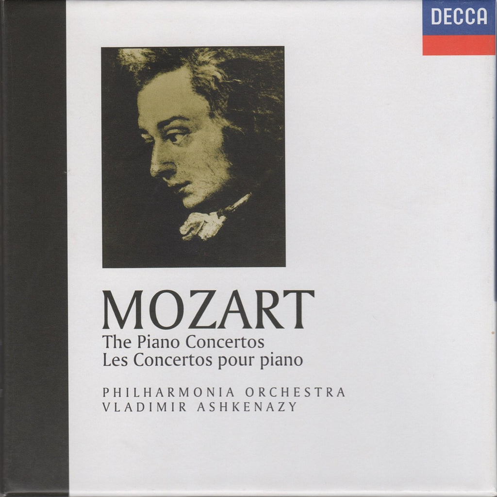 CD - Ashkenazy/Philharmonia O: Mozart Complete Piano Concertos - Decca 476 8904 (10CD Box Set)