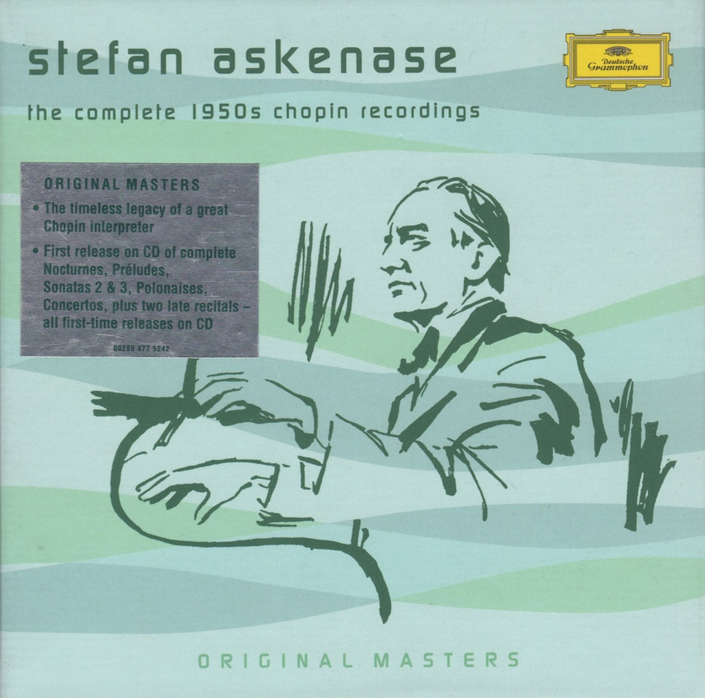 CD - Askenase: 1950s Chopin Recordings + Smetana, Mozart, Et Al. - DG 477 5242 (7CD Set)