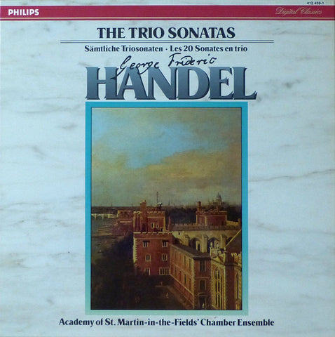 ASMF Chamber Ensemble: Handel Trio Sonatas - Philips 412 439-1 (4LP box)