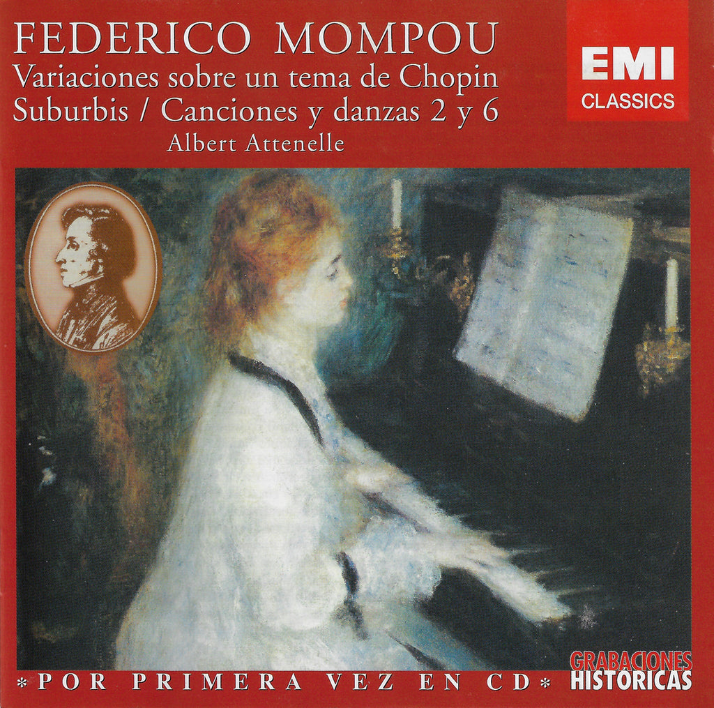 Attenelle: Mompou Variations on a Theme by Chopin, etc. - EMI 4 76717 2