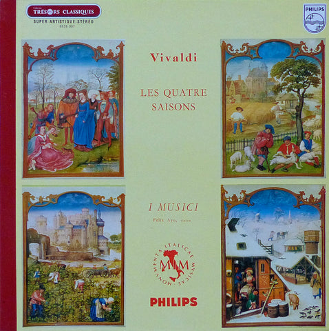 Ayo/I Musici: Vivaldi 4 Seasons - Philips 6515 007