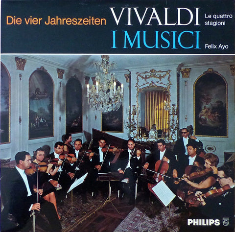 Ayo/I Musici: Vivaldi 4 Seasons - Philips 835 030 (special edition)