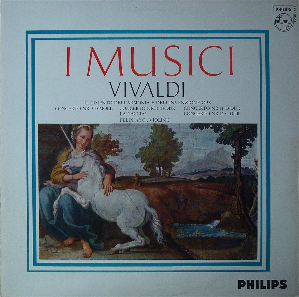 "LP - Ayo: ""Trial Of Harmony & Invention"" Op. 8/9-12 - Philips 835 110 AY"