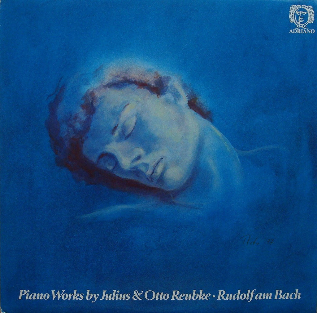 LP - Rudolf Am Bach: Piano Works By Julius & Otto Reubke - Adriano ADR 6