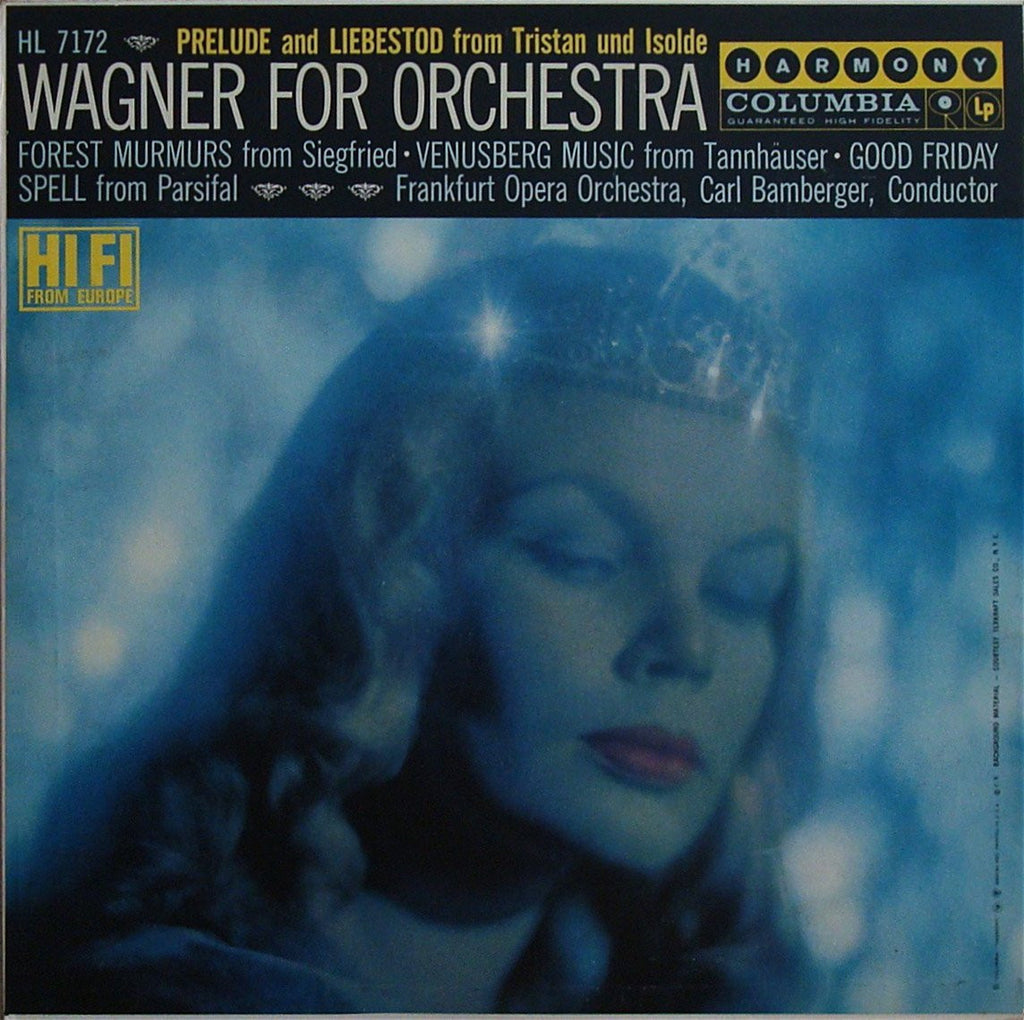 LP - Bamberger: Wagner Excerpts From Tristan, Siegfried, Parsifal, Etc. - Columbia HL 7172