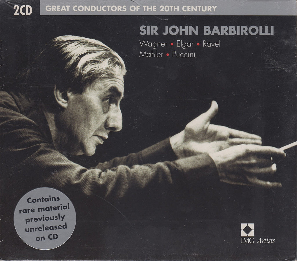 CD - Barbirolli: Great Conductors Of The 20th Century - EMI 5 75100 2 (2CD Set, Sealed)