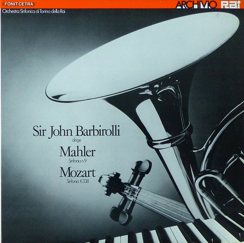 Barbirolli/RAI Torino SO: Mahler No. 9 - Fonit Cetra LAR 8 (2LP set)