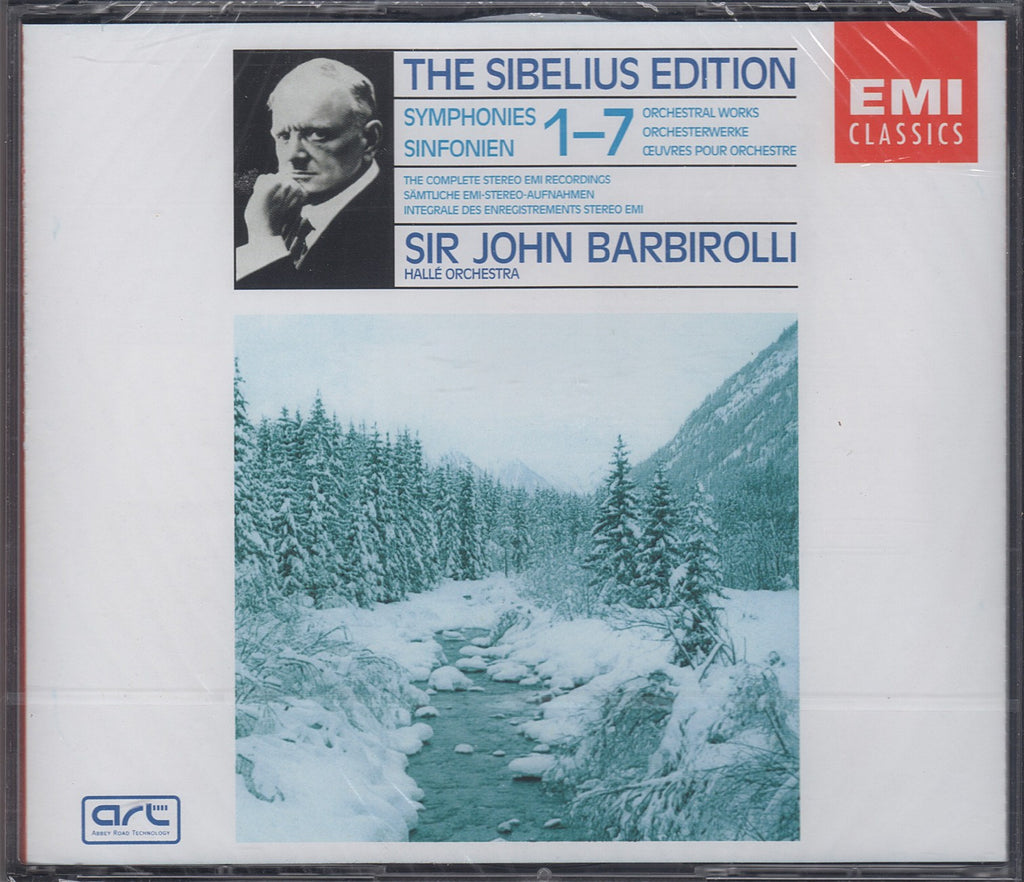 CD - Barbirolli: Sibelius Syms 1-7 (Compl. EMI Stereo Recs.) - EMI 5 67299 2 (5CD Set, Sealed)