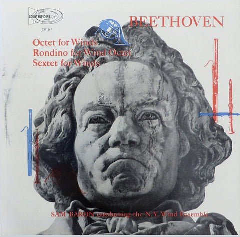 Baron/NY Wind Ensemble: Beethoven Octet Op. 103, etc. - Counterpoint CPST-5559-A