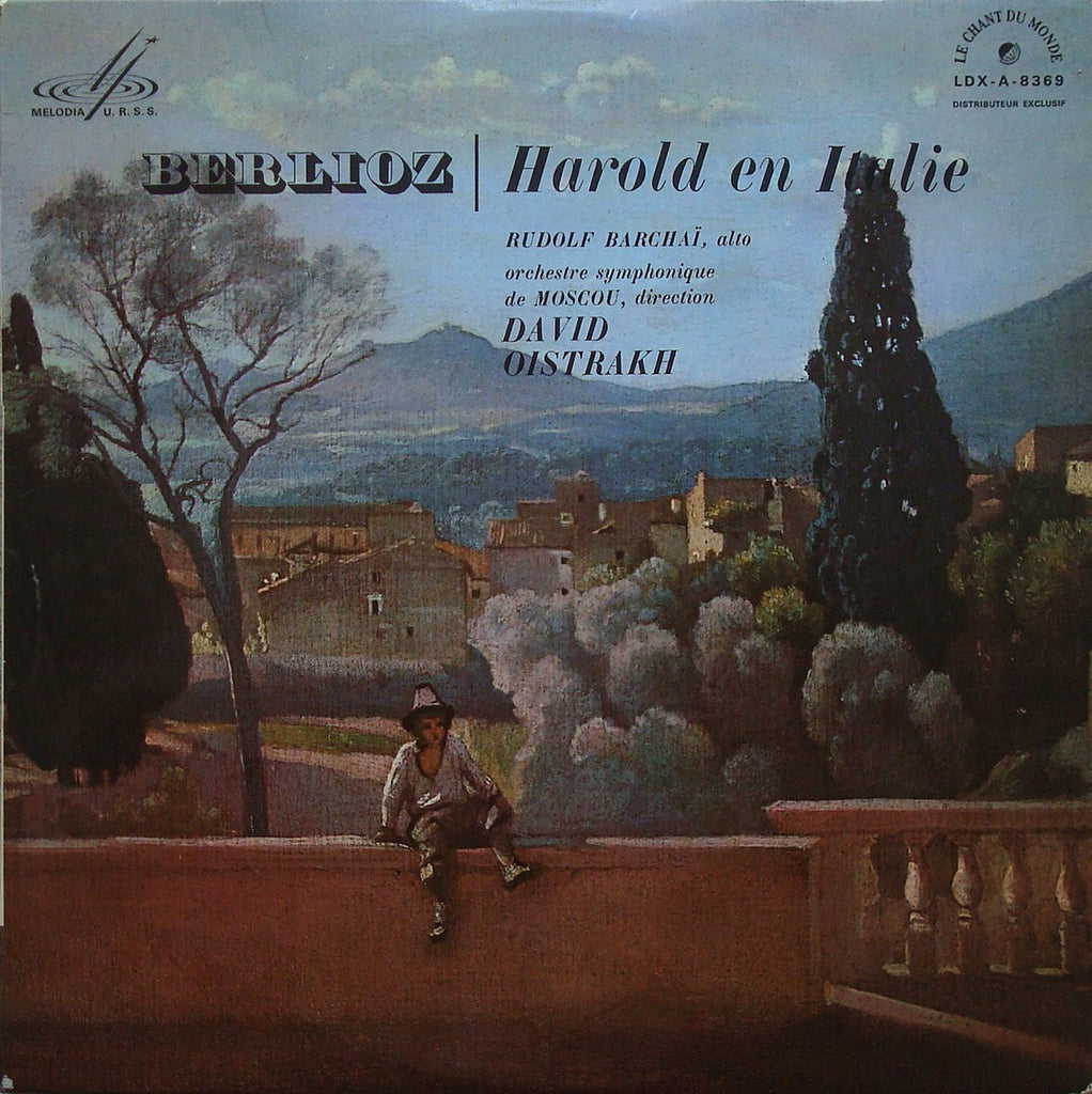LP - Barshai: Berlioz Harold In Italy Op. 16 - Le Chant Du Monde LDX-A-8369